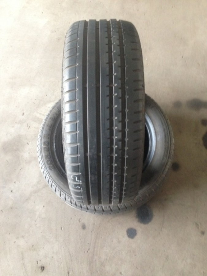 2 opony 205/55/16 Continental sportcontact 2 6mm