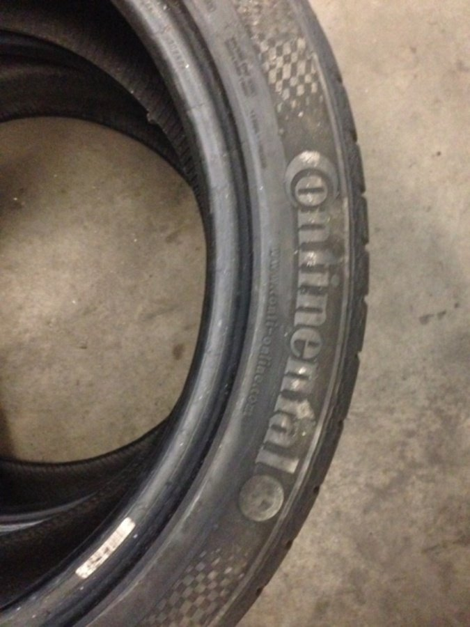 2 opony 255/40/18 Continental contisportcontact 3 6,5mm