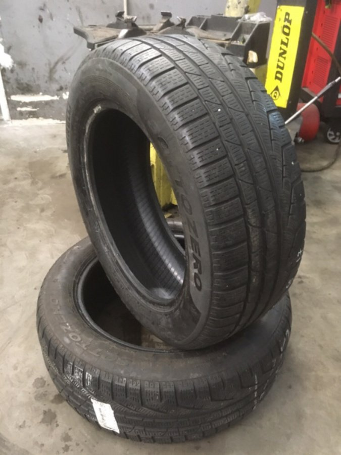 2 opony 225/55/17 Pirelli Sottozero Winter 210 97 h Run on flat