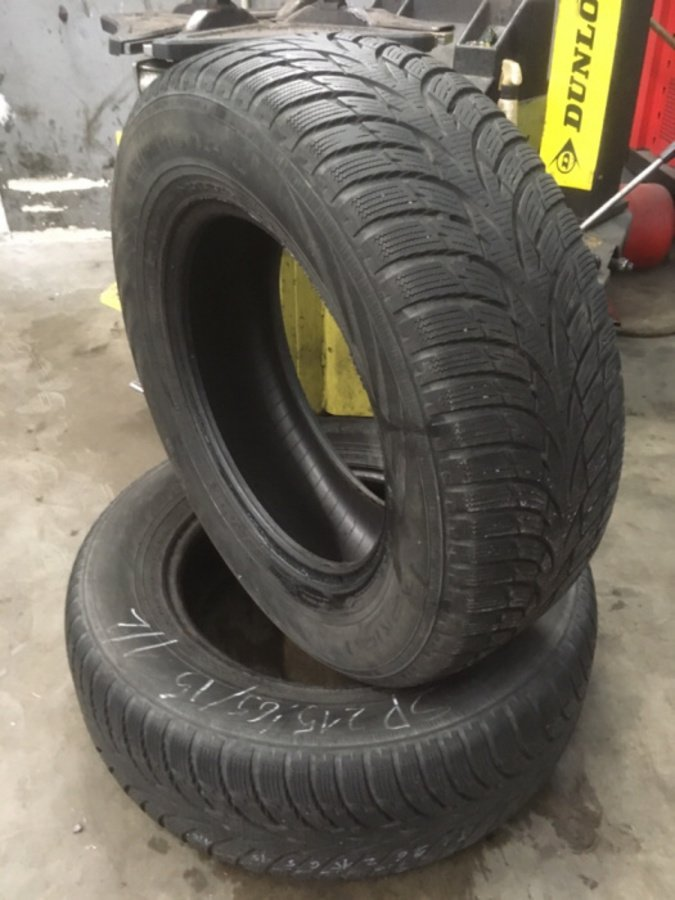 2 opony 205/55/16 Hankook Winter Icept RS 6mm