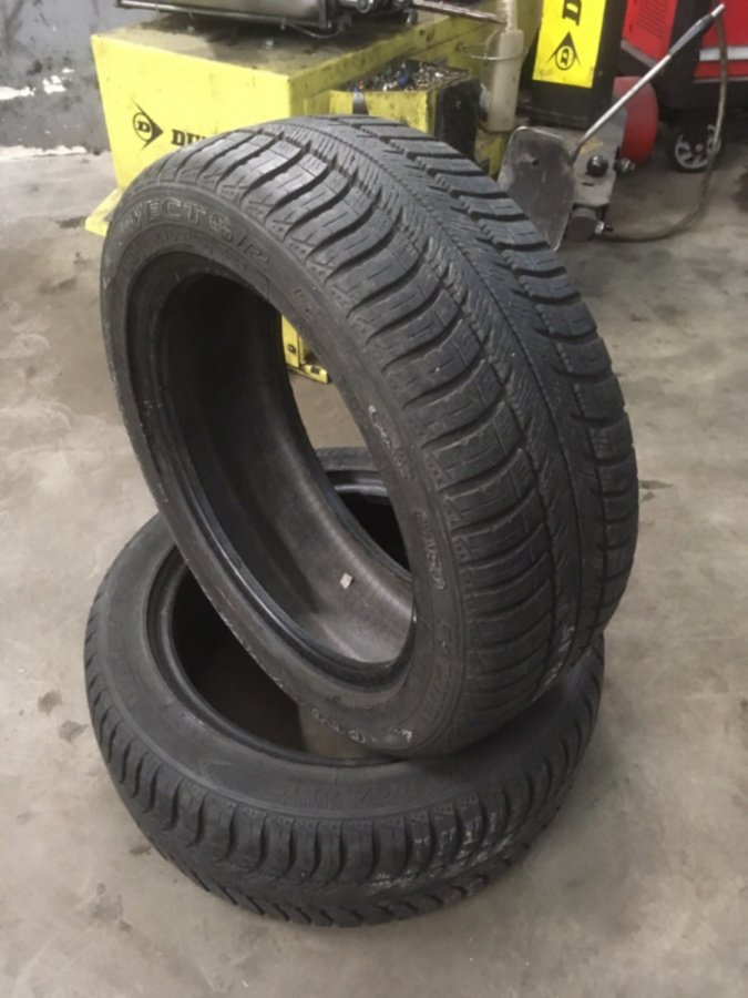 2 opony 195/50/15 Goodyear Vector 5 6,5mm