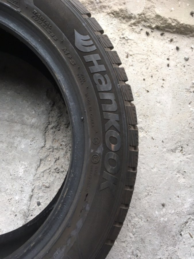 Opona 205/55/16 Hankook Winter Icept rs 8mm