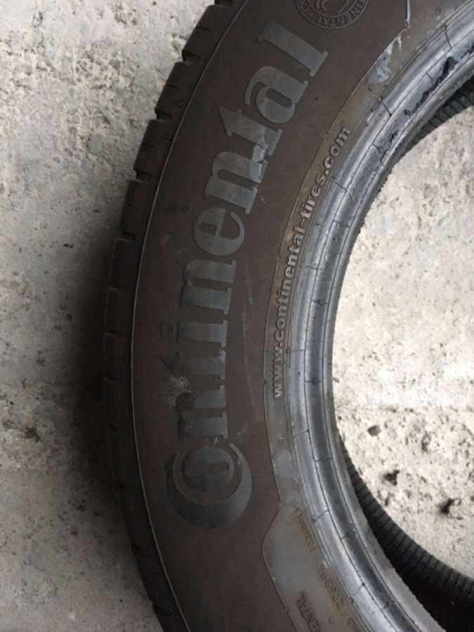 Opona 215/60/16 Continental Conti Eco Contact 5 7mm