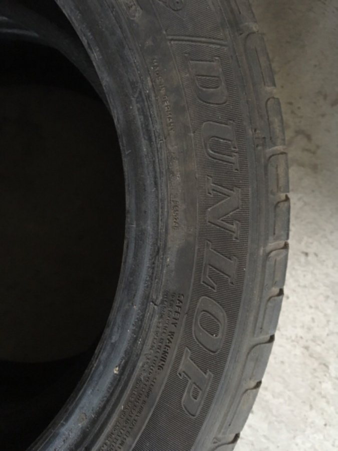 2 opony Dunlop Sp Sport 01 As 235/60/18