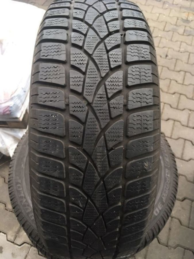 4 opony 205/60/16 Dunlop Sp Winter Sport 3d 6,5mm