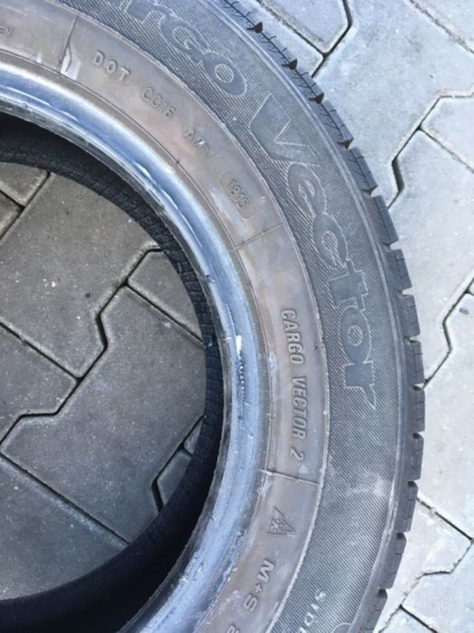 opona 215/65/15 C Goodyear Cargo Vectro 2 7mm
