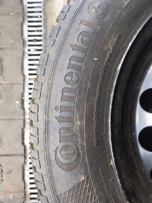 komplet opon 195/65/15 Continental Winter Contact TS 850