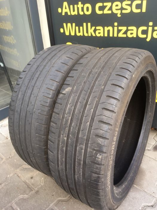 2 opony Continental ContiEcoContact 5 195/45/16 h xl