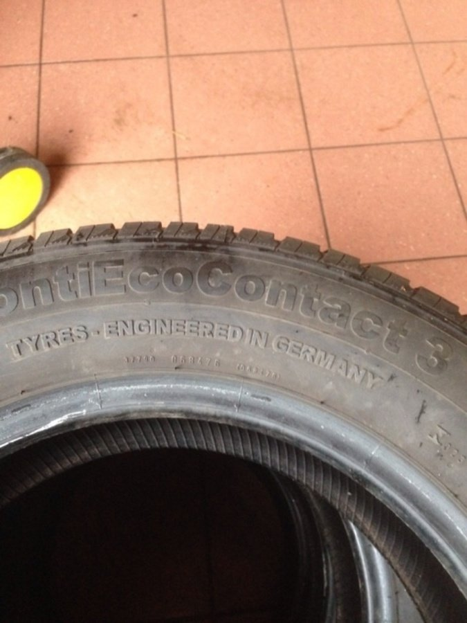 4 opony 195/65 r15 Continental conti evo contact 3 7mm