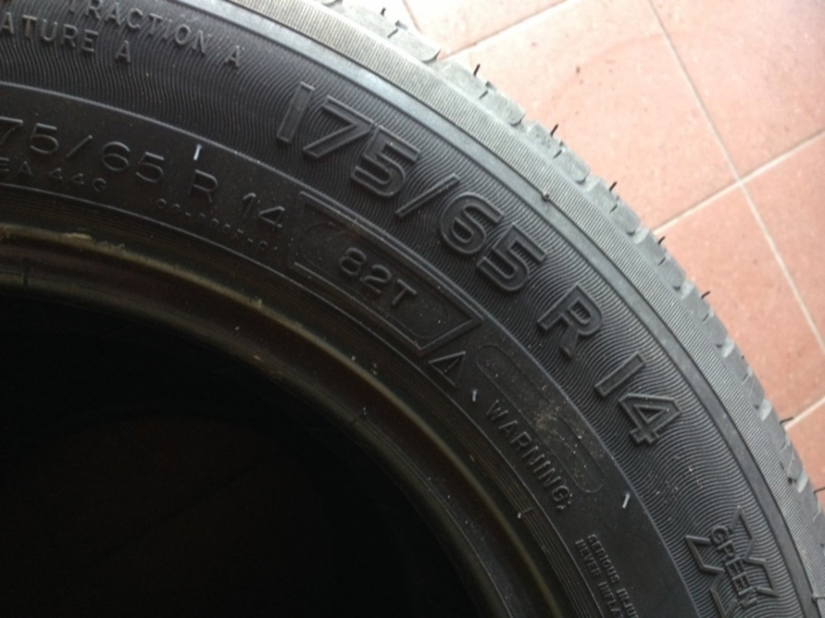 4 opony 175/65 r14 Michelin Energy saver 6,5mm