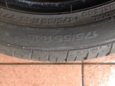 2 opony 175/55 r15 Continental contipremium contact 2 6,5mm