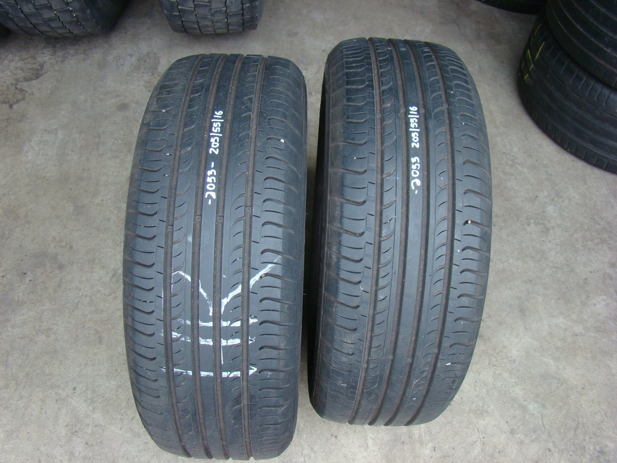 Cac76efe633afa54 hankook 2 opony hankook optimo k415 205 55r16 91h 6mm