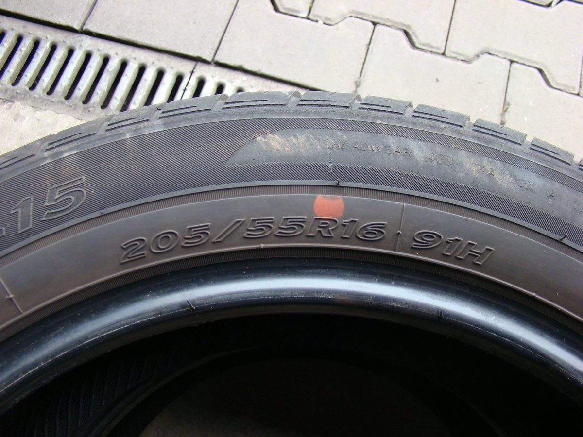3807609464b61806 hankook 2 opony hankook optimo k415 205 55r16 91h 6mm